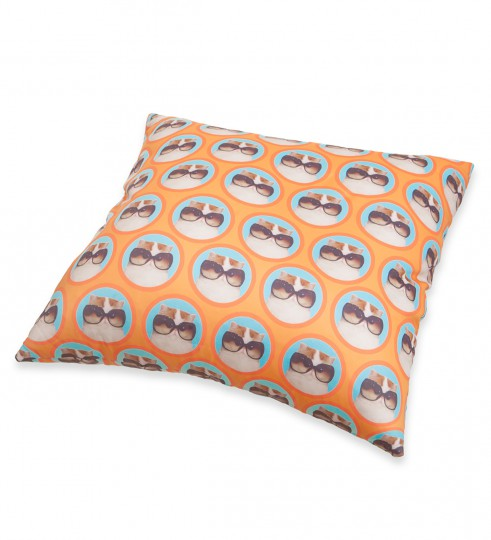 fabulous cat pillow Miniature 2