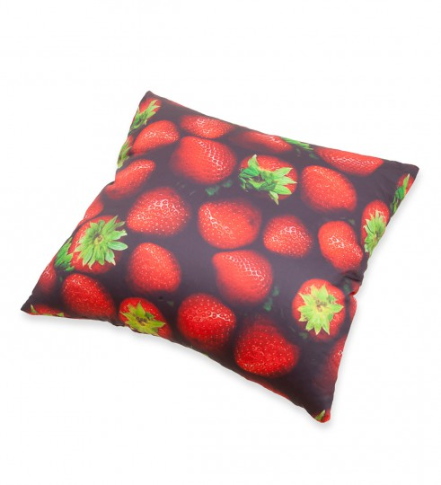 Strawberries pillow Miniature 2