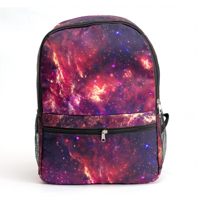 Purple nebula backpack Miniature 1