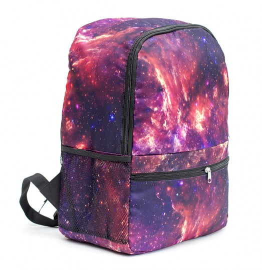 Purple nebula backpack Miniature 2