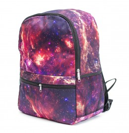 Mr. Gugu & Miss Go, Purple nebula backpack Miniature $i