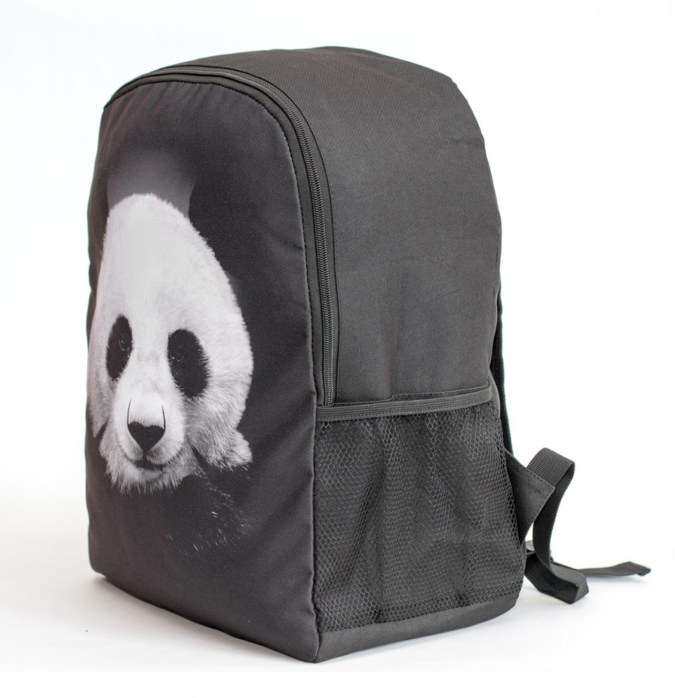 Mr. Gugu & Miss Go, Panda backpack Image $i