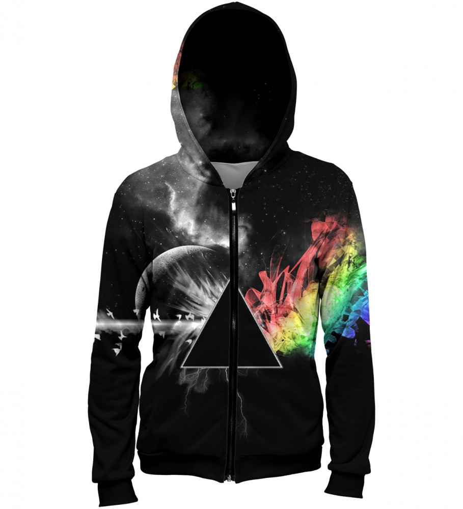 Mr. Gugu & Miss Go, Pink Floyd Zip Up Hoodie Image $i