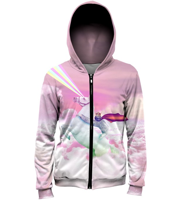 Utopia Zip Up Hoodie Miniature 1
