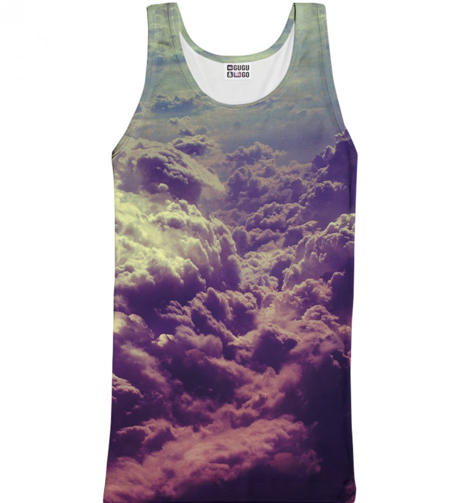 Mr. Gugu & Miss Go, Clouds tank-top Image $i