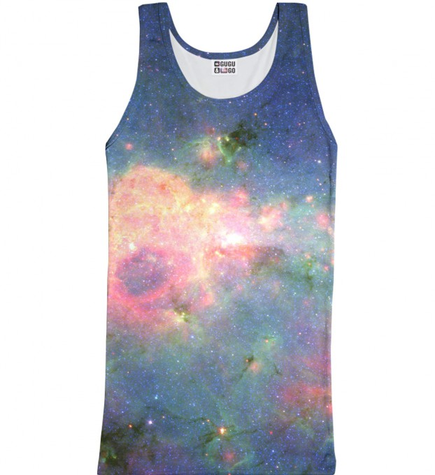 Green Nebula tank-top Thumbnail 1