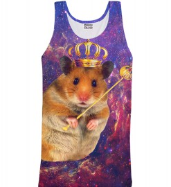 Mr. Gugu & Miss Go, King Hamster tank-top Thumbnail $i