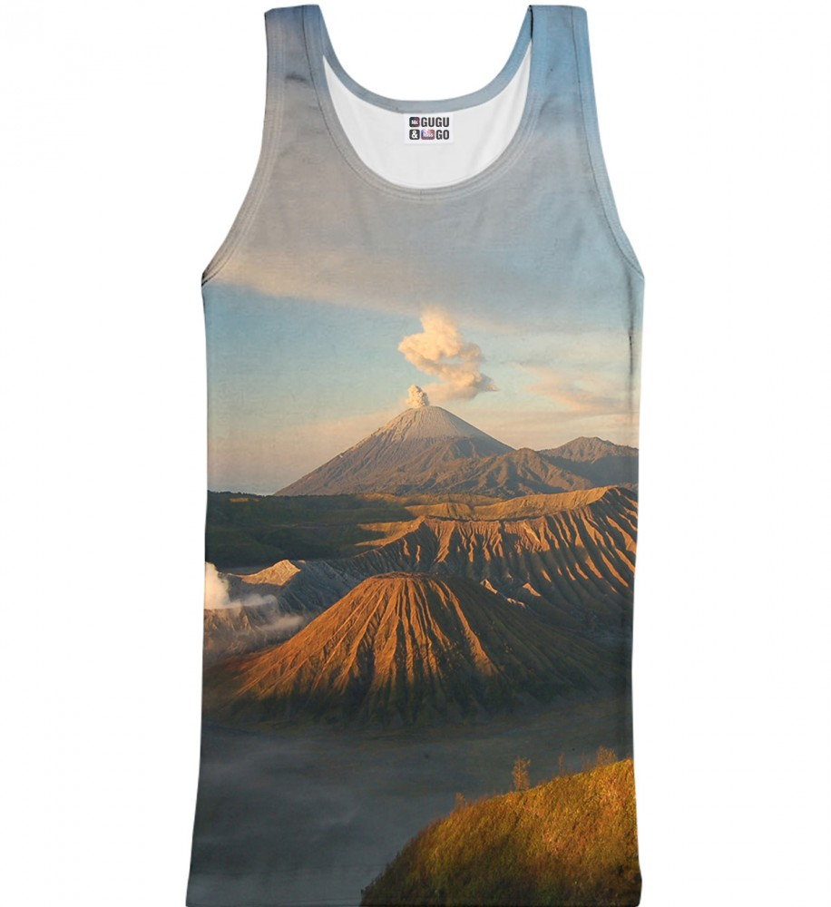 Mr. Gugu & Miss Go, Volcano tank-top Image $i