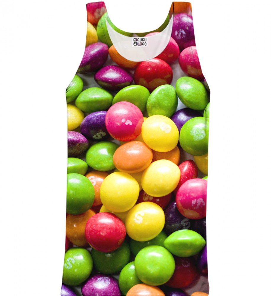 Mr. Gugu & Miss Go, Sweets tank-top Image $i