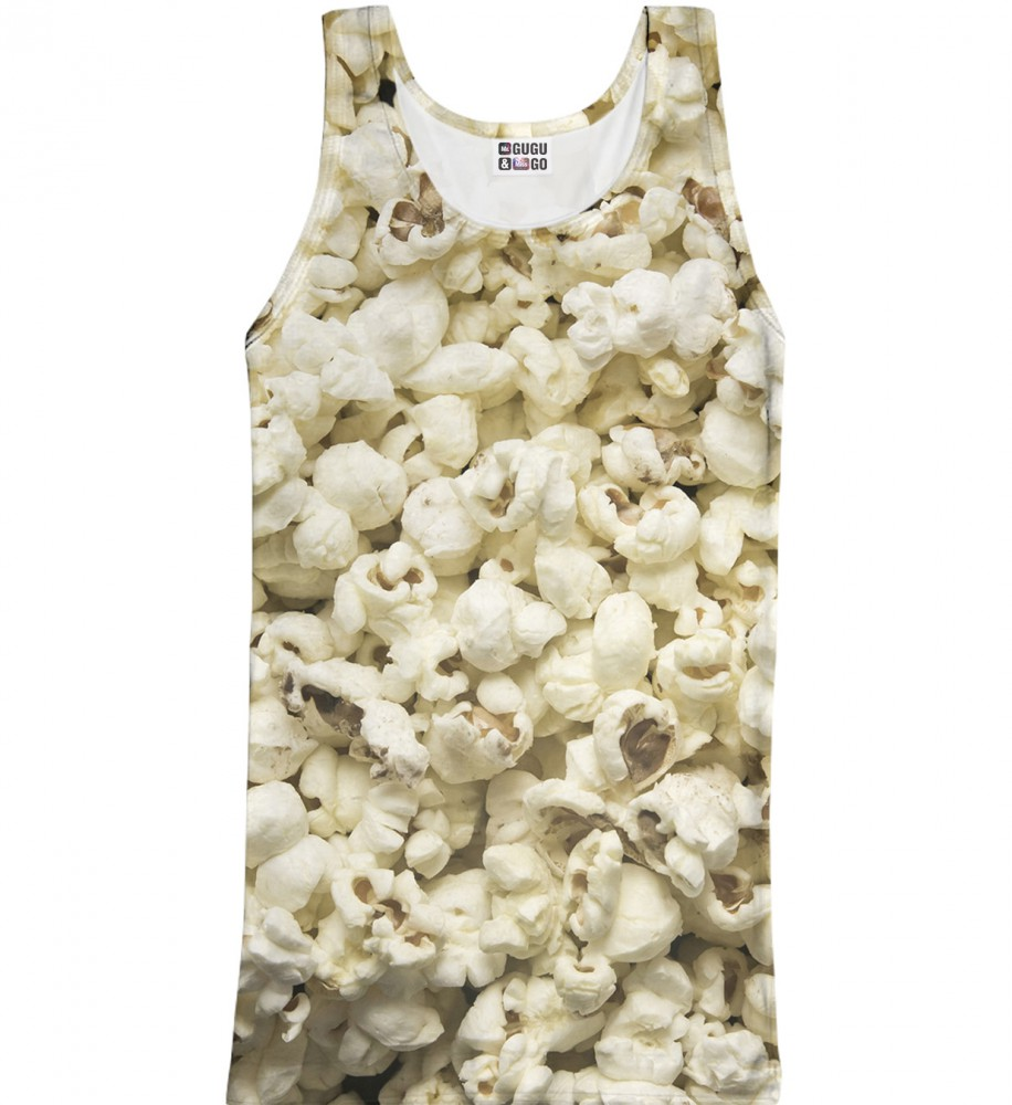 Mr. Gugu & Miss Go, Popcorn tank-top Image $i
