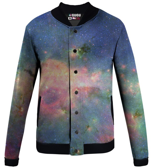 green nebula baseball jacket Miniatura 1