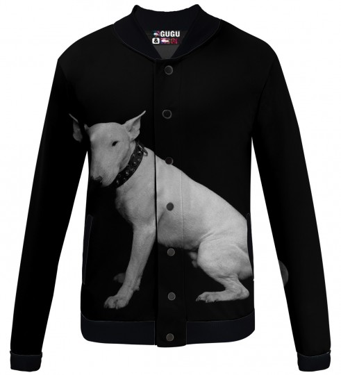bullterrier baseball jacket Miniature 1