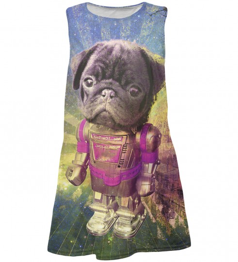 Robodog summer dress  Miniature 1