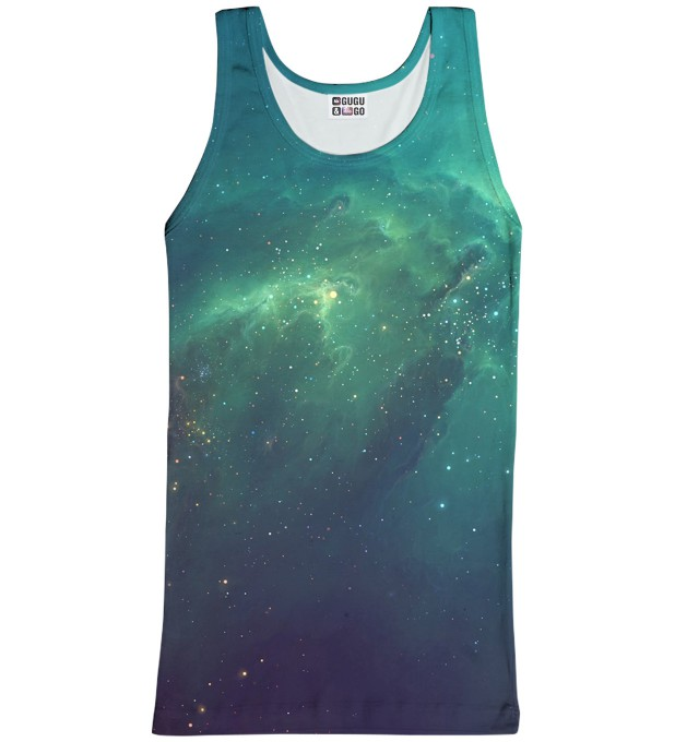Blue Nebula tank-top Miniature 1