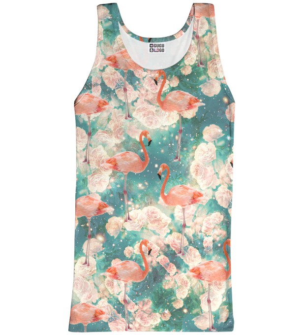 Flamingos tank-top Thumbnail 1