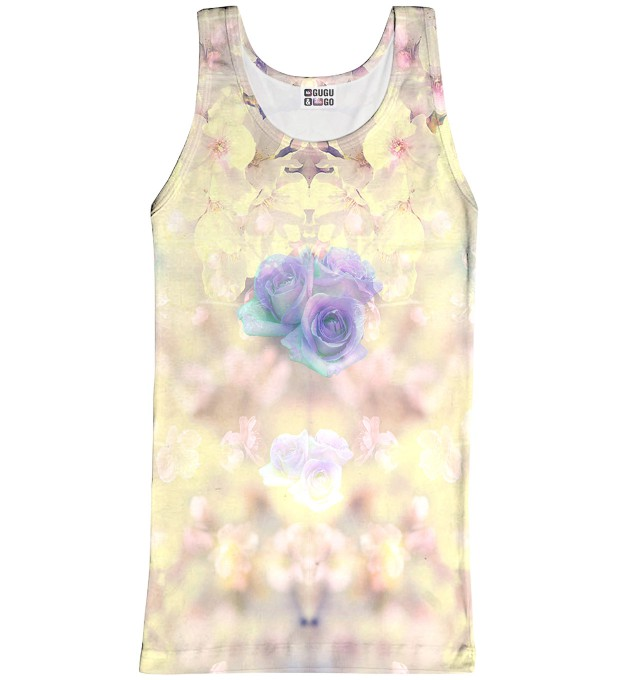 Pastel Flowers tank-top Thumbnail 1