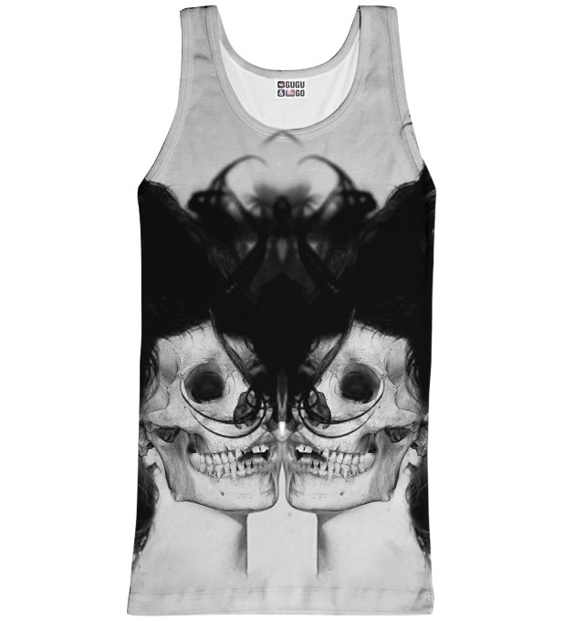 Black Skull Girl tank-top Thumbnail 1