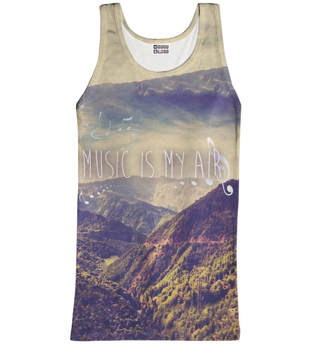 Music Is Ma Air tank-top Thumbnail 1