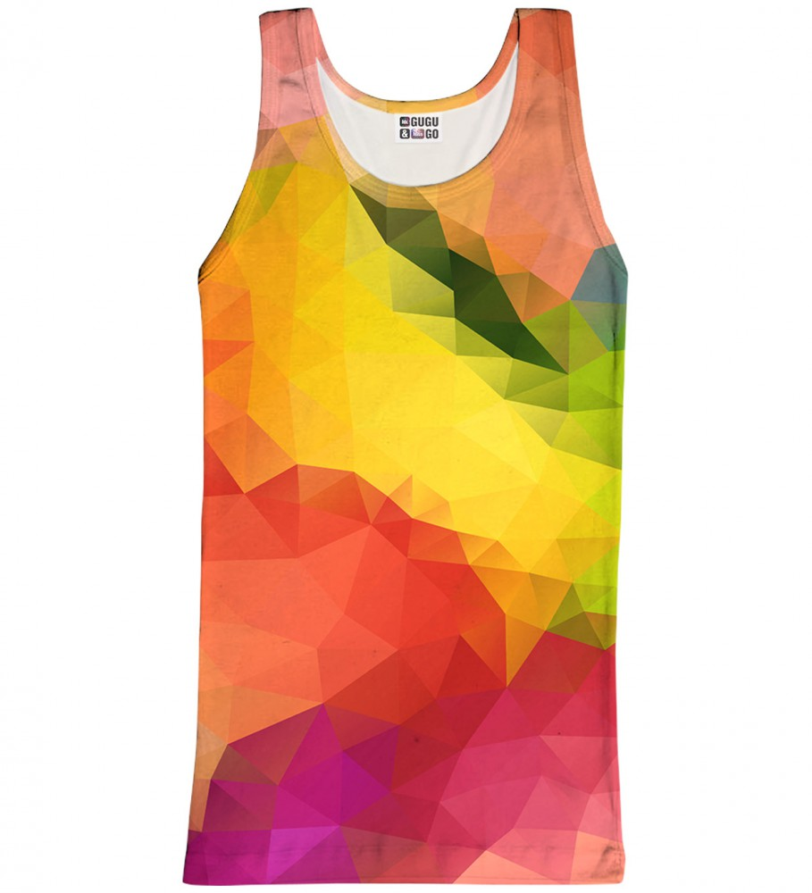 Mr. Gugu & Miss Go, Colorful Geometric tank-top Image $i