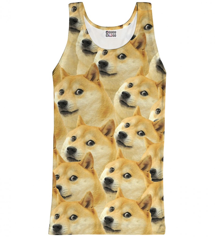 Mr. Gugu & Miss Go, Doge tank-top Image $i
