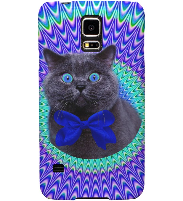Crazy Cat phone case Thumbnail 1