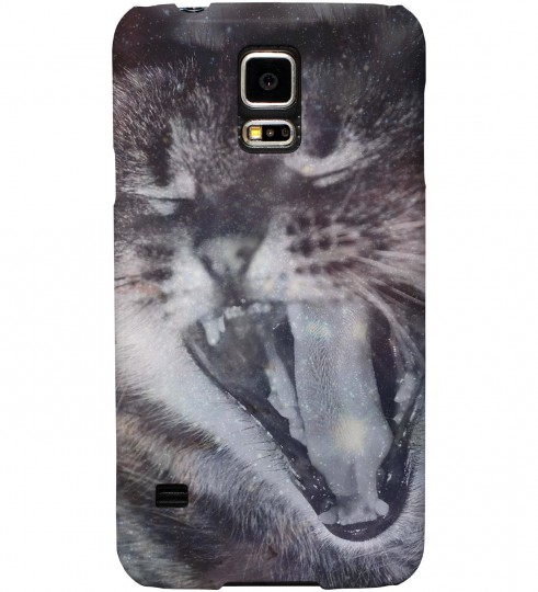 Galaxy Cat phone case Miniature 1
