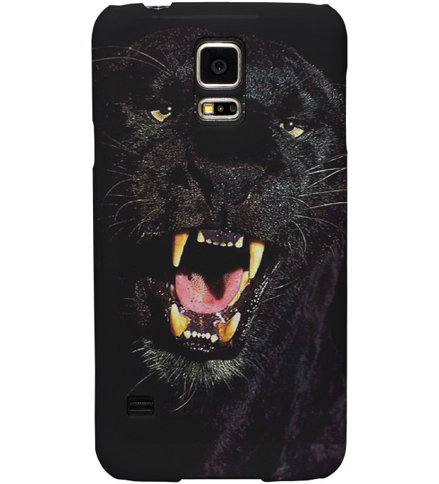 Black Pantera phone case Miniature 1