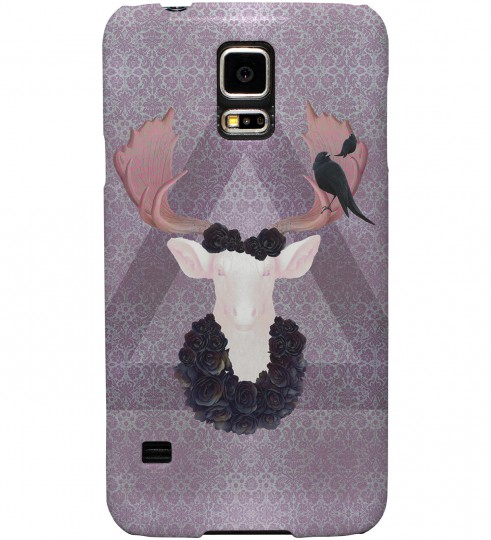 Antlers phone case Miniature 1