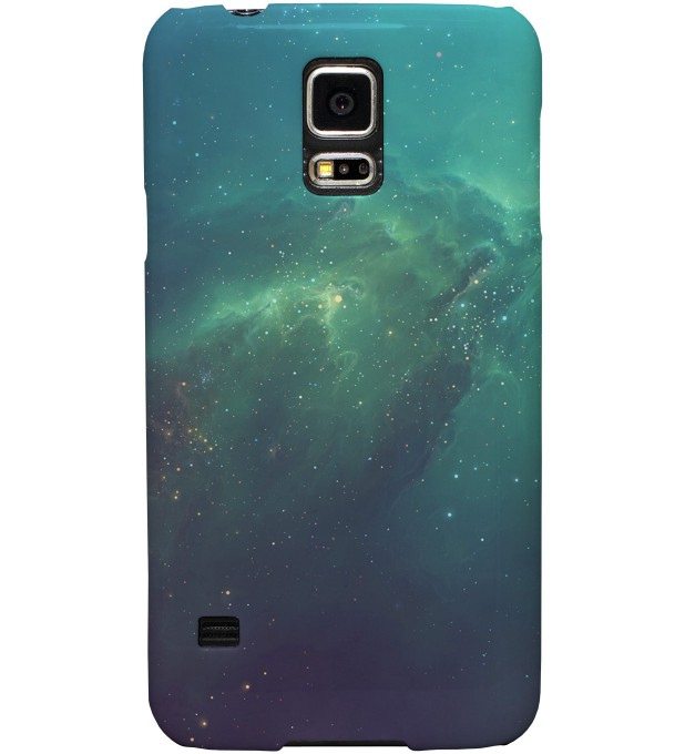 Blue Nebula phone case Thumbnail 1