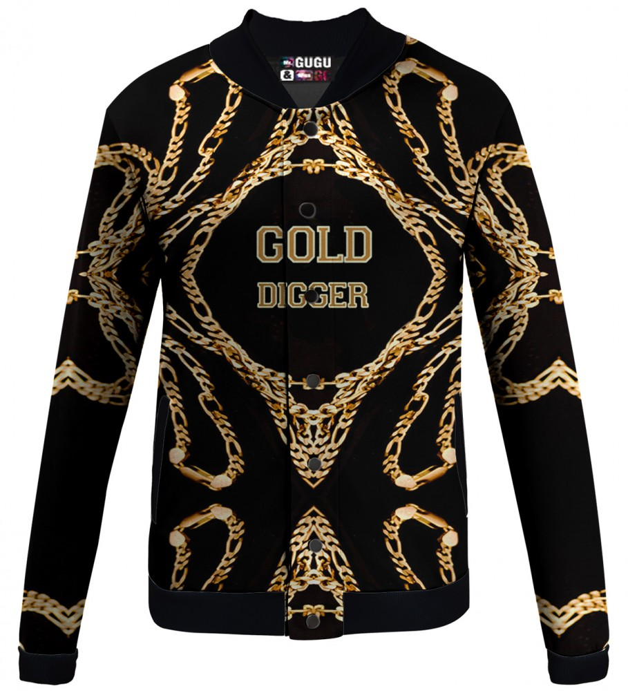 GOLD DIGGER baseball jacket | Mr. Gugu & Miss Go