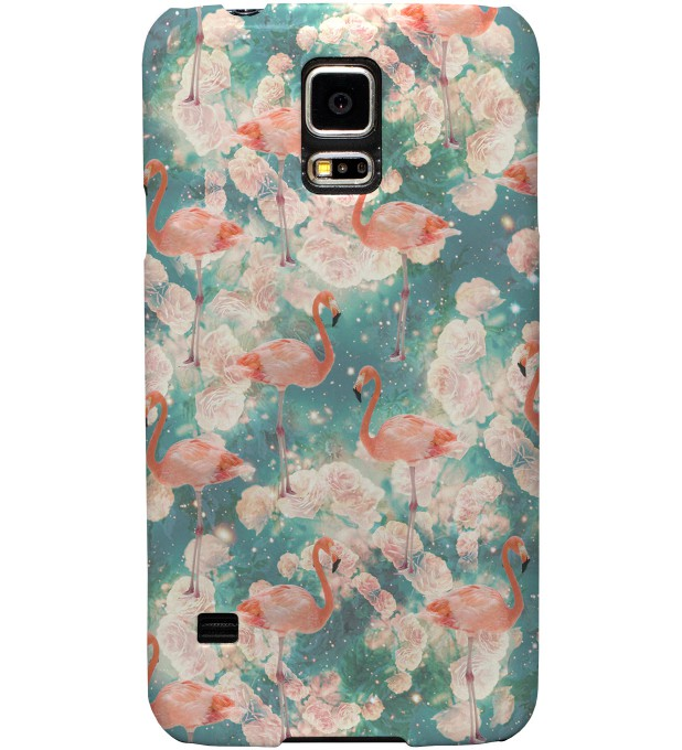 Flamingos phone case Thumbnail 1