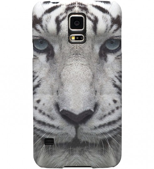 White Tiger phone case Miniature 1