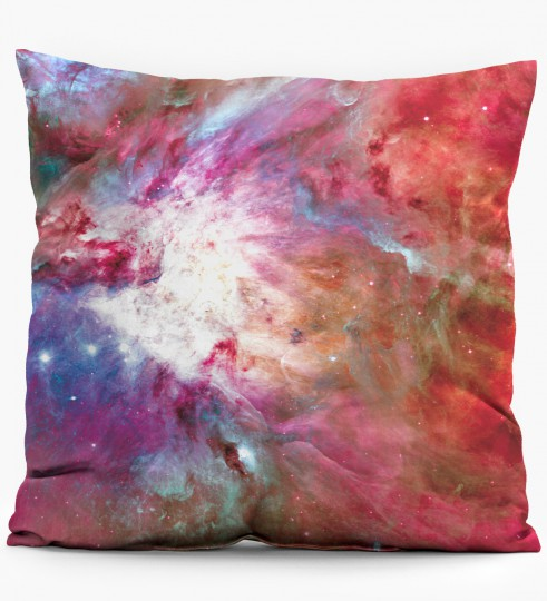 pink nebula pillow Miniature 1