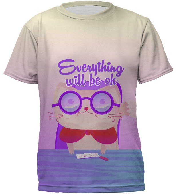 Everything will be ok t-shirt for kids Miniature 2
