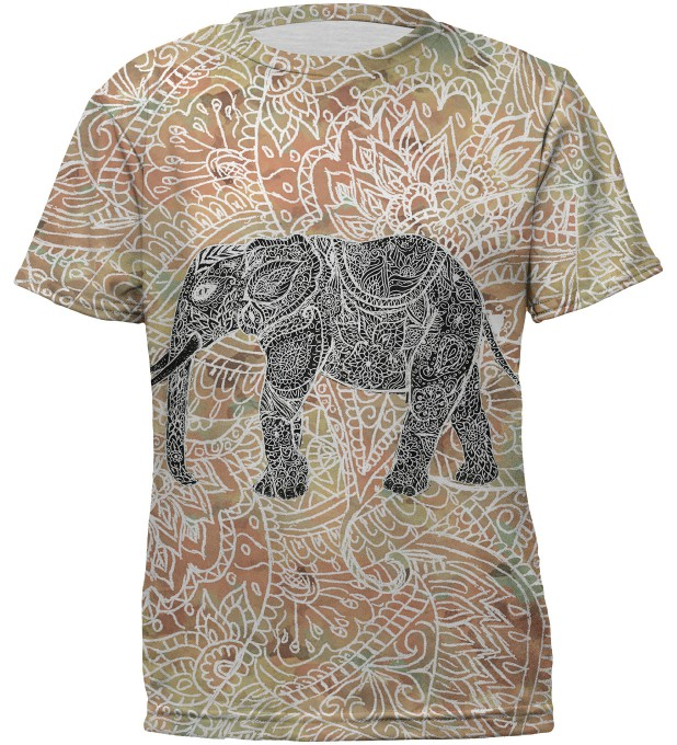 Indian elephant t-shirt for kids Miniatura 2