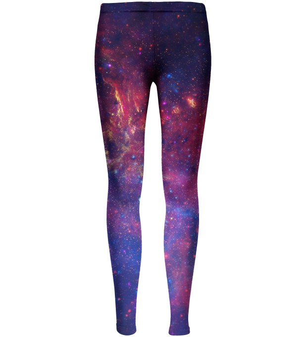 Purple Nebula leggings for kids Thumbnail 1