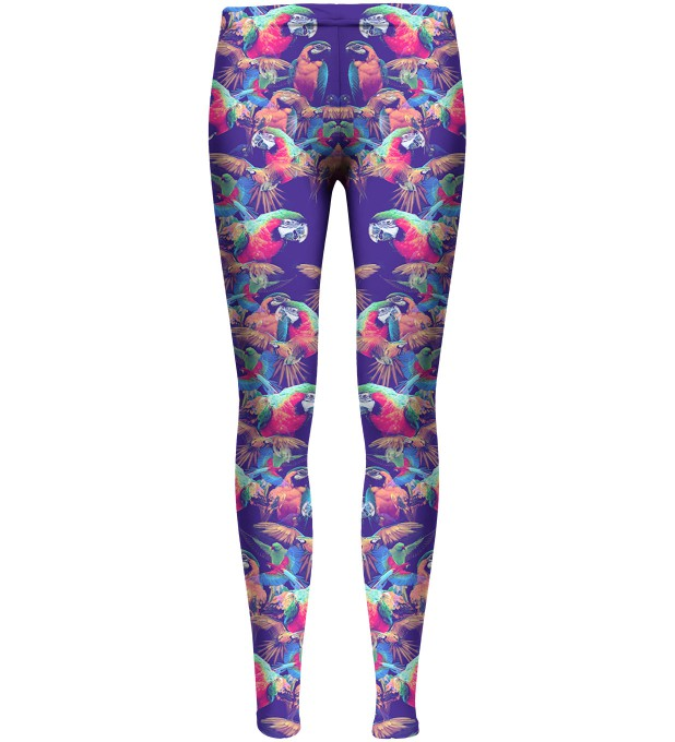 Parrots leggings for kids аватар 1