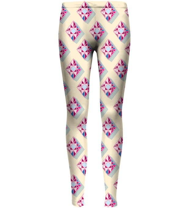 Red Diamonds leggings pour enfants Miniature 1