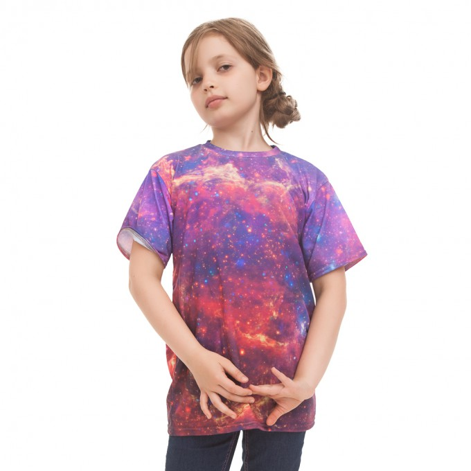 Purple Nebula t-shirt for kids аватар 2