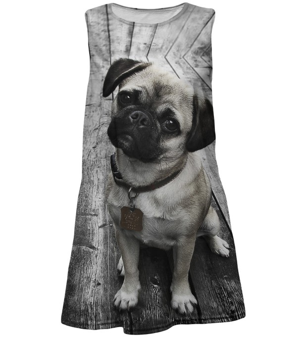 Pug summer dress for kids Thumbnail 1