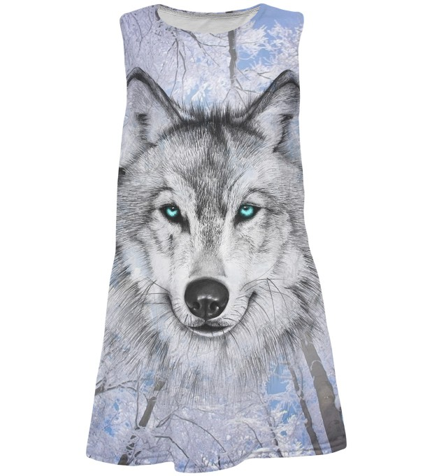Wolves summer dress for kids Thumbnail 1
