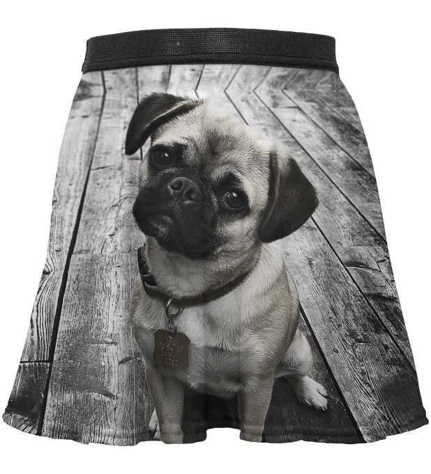 Pug circle skirt for kids Thumbnail 1