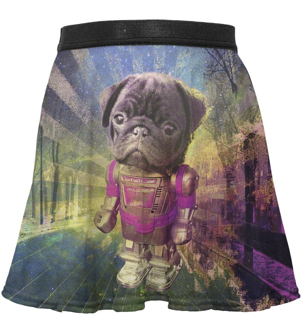Robodog circle skirt for kids Thumbnail 1
