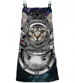 Astronaut Cat sleeveless dress for kids | Mr. Gugu & Miss Go
