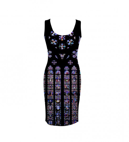 cathedral simple dress 2 Miniature 1