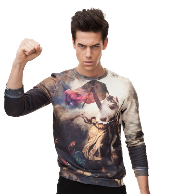 Cat revolution sweater Thumbnail 2