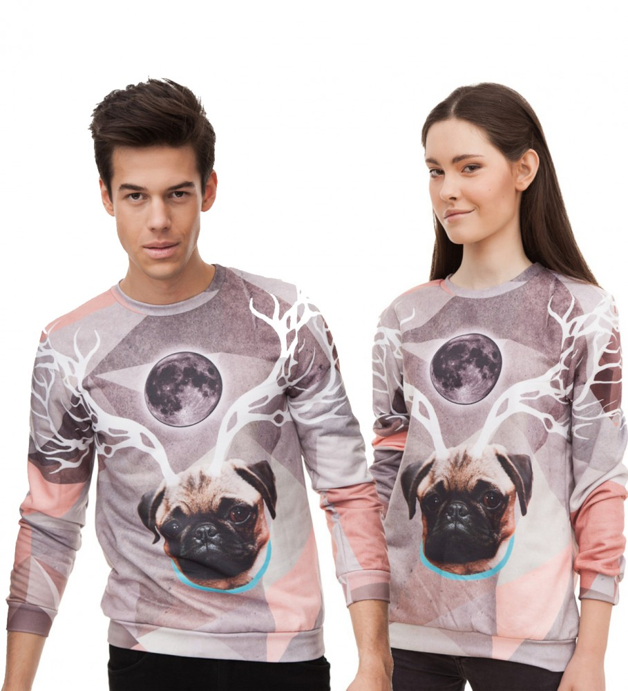 Mr. Gugu & Miss Go, Raindeer sweater Image $i