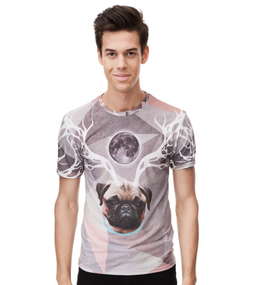 Mr. Gugu & Miss Go, Raindeer t-shirt Image $i