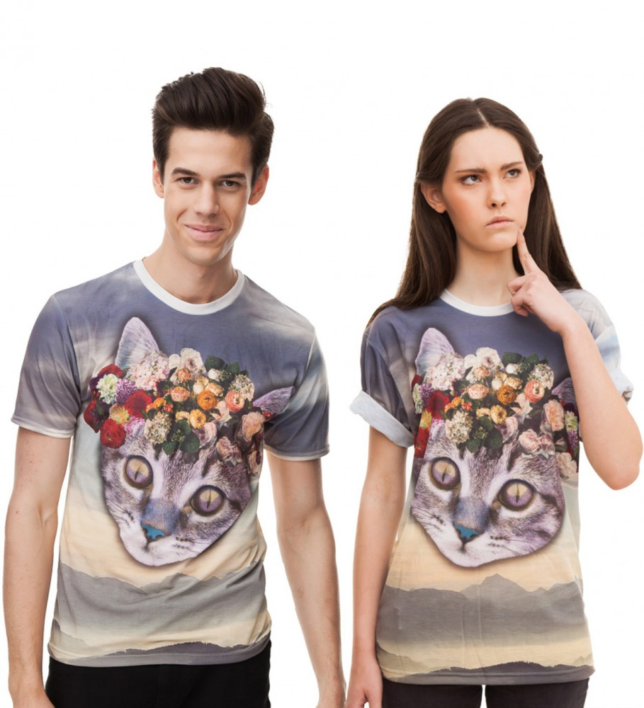Mr. Gugu & Miss Go, Daisy Crown t-shirt Imagen $i
