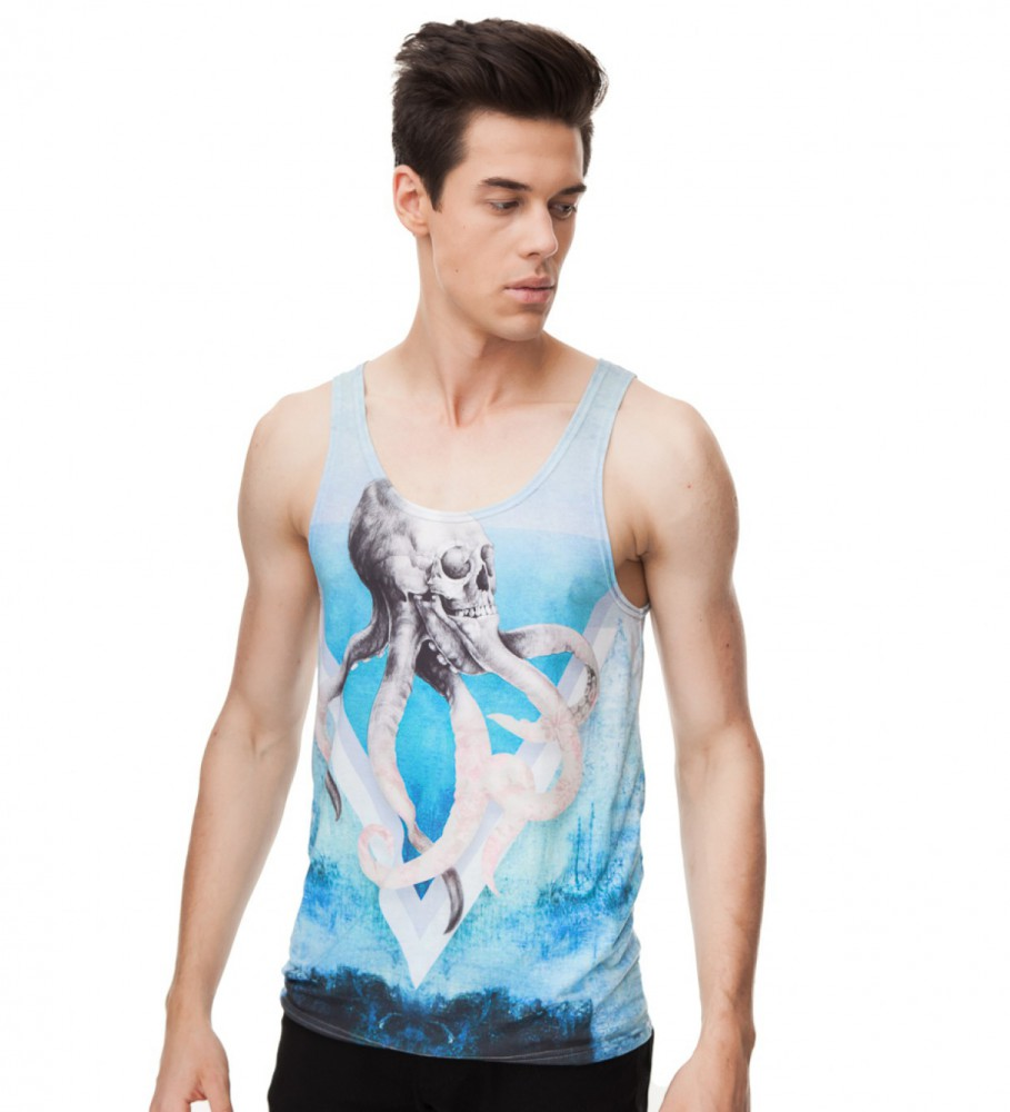 Mr. Gugu & Miss Go, Octopus tank-top Image $i